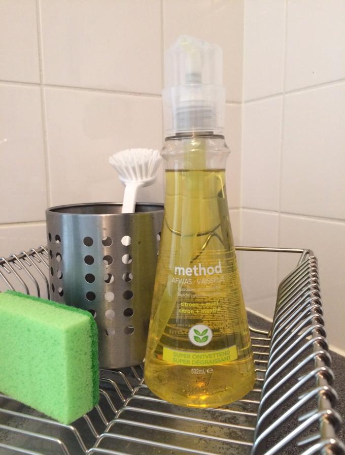 Duurzaam afwassen met Method Afwasmiddel