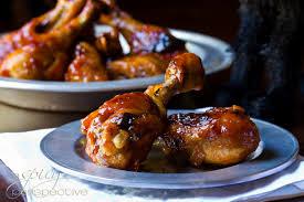 Zoete kippenpootjes uit de oven