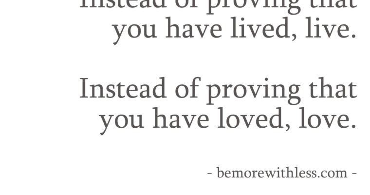 Quote   Instead of proving